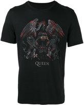 John Varvatos Queen printed T-shirt - men - Cotton/Modal - S