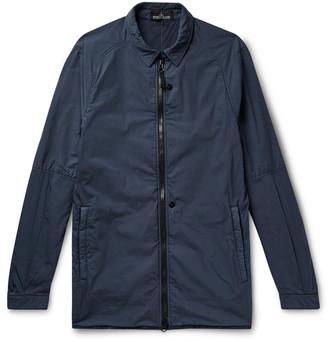 Stone Island Shadow Project Garment-Dyed Tela Shirt Jacket