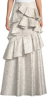 Alice + Olivia Flossie Ruffle Tiered Ball Gown Skirt
