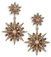 Sole Society Starburst Drop Earrings