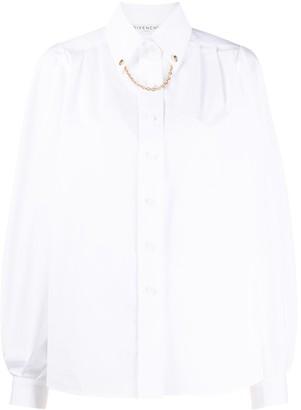 Givenchy Chain Collar Shirt