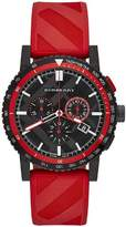 Burberry Men's City BU9805 Rubber Swiss Quartz Watch