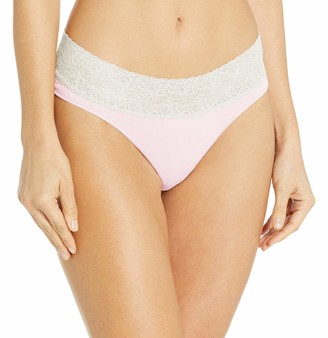 Rosie Pope Women's Seamless Thong W.lace