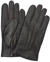 Simon Carter Contrast Leather Gloves