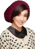 SIA Beignet or Nay Hat in Cranberry