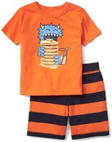 Dinosaur short sleep set
