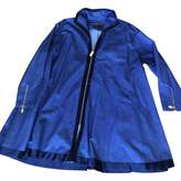 Donna Karan Blue Coat for Women