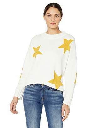 Cable Stitch Women's Intarsia Star Sweater