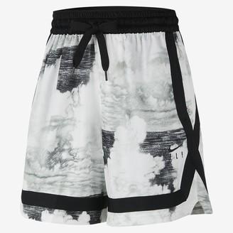 Nike Women's Basketball Printed Shorts Swoosh Fly