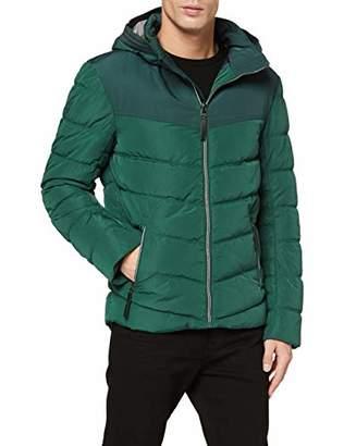 Tom Tailor Men's Padded Jacket (Explorer Green 7814), Large