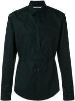 Chalayan button belt shirt - unisex - Cotton - 46