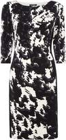 Lauren Ralph Lauren Printed side panel jersey dress