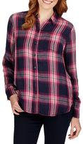 Lucky Brand Long Sleeve Plaid Shirt