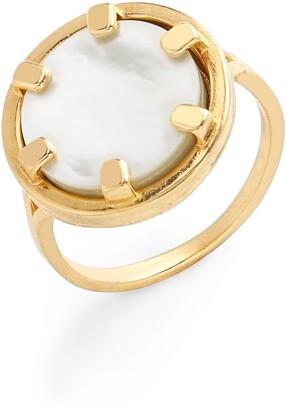Brook And York Maya Coin Ring