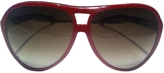 Marc Jacobs Red Plastic Sunglasses