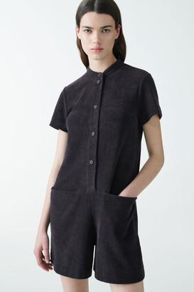 Cos Organic Cotton Jersey Playsuit
