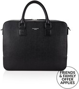 Aspinal of London Men's Leather Mount Street Briefcase