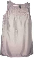 Marc Cain Grey Silk Top for Women