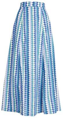 Le Sirenuse Positano Camille Que Onda Midi Skirt