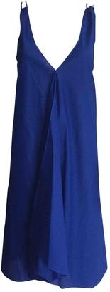 Eres Blue Cotton Dresses