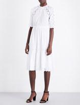 Ulla Johnson Martha floral-detail cotton dress