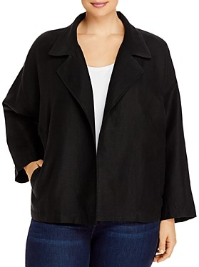 Eileen Fisher, Plus Size Boxy Fit Jacket