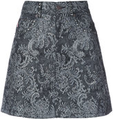 Marc Jacobs embellished lace mini skirt