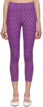 Molly Goddard Purple Alix Leggings