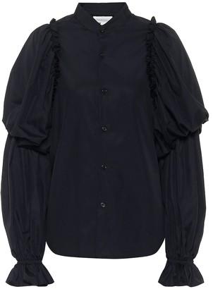 Noir Kei Ninomiya Cotton poplin blouse