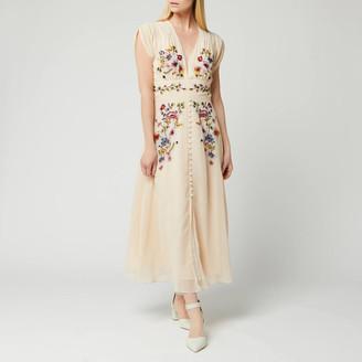 Hope & Ivy Women's Embroided Midi Dress