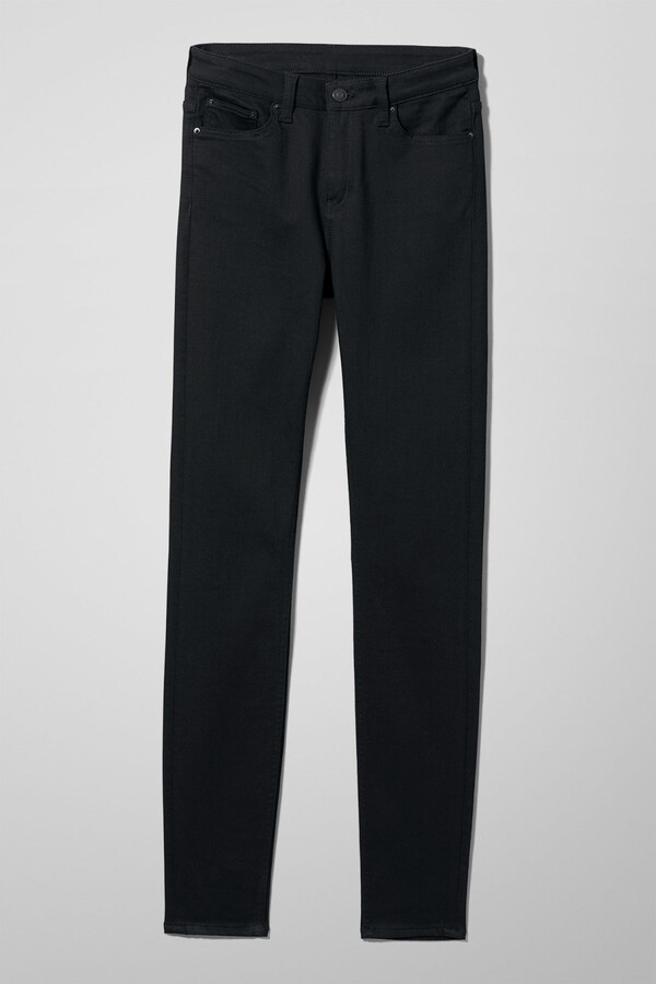 Thumbnail for your product : Weekday Body Skinny Jeans - Black