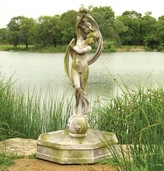 The Well Appointed House Goddess Venus Outdoor Water Fountain Bowl