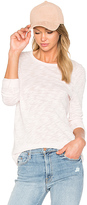 ATM Anthony Thomas Melillo Long Sleeve Destroyed Wash Tee in Pink. - size XS (also in )