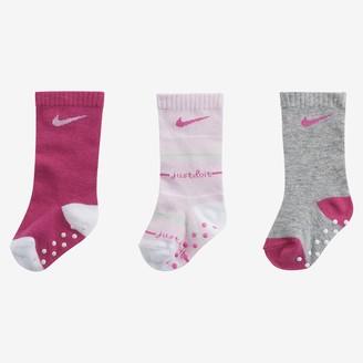 Nike Baby JDI Gripper Crew Socks (3 Pairs