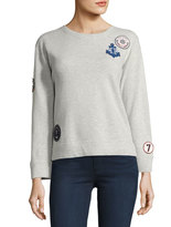 Soft Joie Rikke B Patched Pullover Sweater