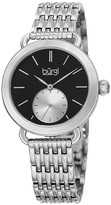 Burgi Women's Stainless Steel Watch