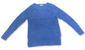 Style&Co. Style & Co Cotton Rib-Knit V-Neck Sweater, Created for Macy's