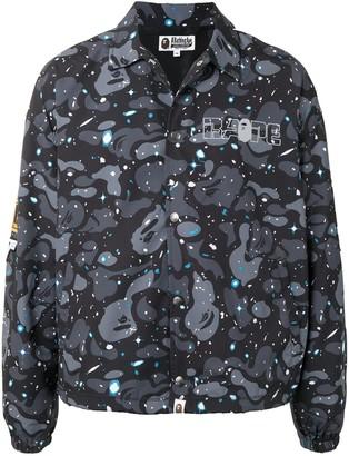 A Bathing Ape Space Camo-print shirt jacket