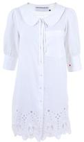 JC DE CASTELBAJAC - Embroidered cotton blouse dress
