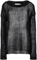 Faith Connexion Punk jumper - women - Mohair - S
