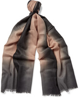 Paul Smith - Dip-dyed Cashmere Scarf