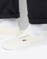 Vans Authentic Leather Trainers In White