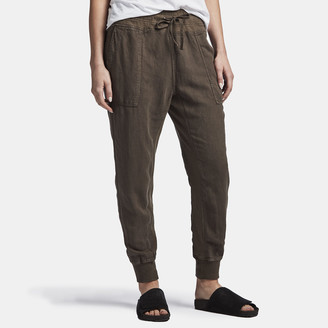 James Perse Canvas Linen Relaxed Pant