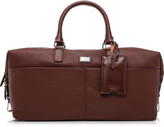 Ted Baker Leather Holdall W/ Logo Plate