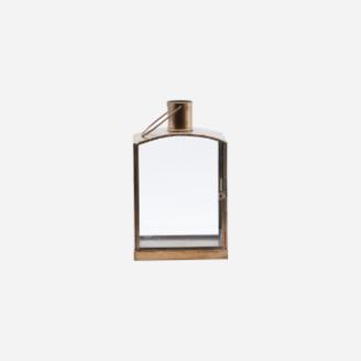 House Doctor - Antique Brass Origi Lantern - Iron glass