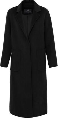 Unreal Fur Loving felt coat