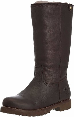 Panama Jack Bambina Igloo B1 Women's Warm Lined Slipper Boots Long Shaft Boots & Bootees Brown - Braun (Marron / Brown) 4 UK (37 EU)