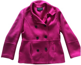 Jaeger Pink Wool Jacket for Women