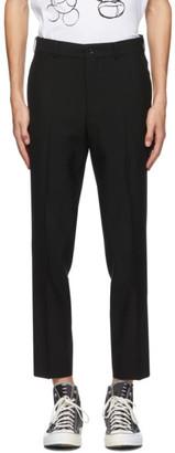 Comme des Garçons Homme Deux Black Wool and Cashmere Trousers
