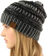 SK Hat shop Unisex Winter Chunky Soft Stretch Cable Knit Slouch Beanie Skully Ski Hat